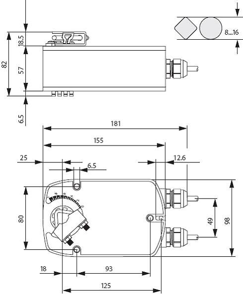 Электропривод Belimo LF230.